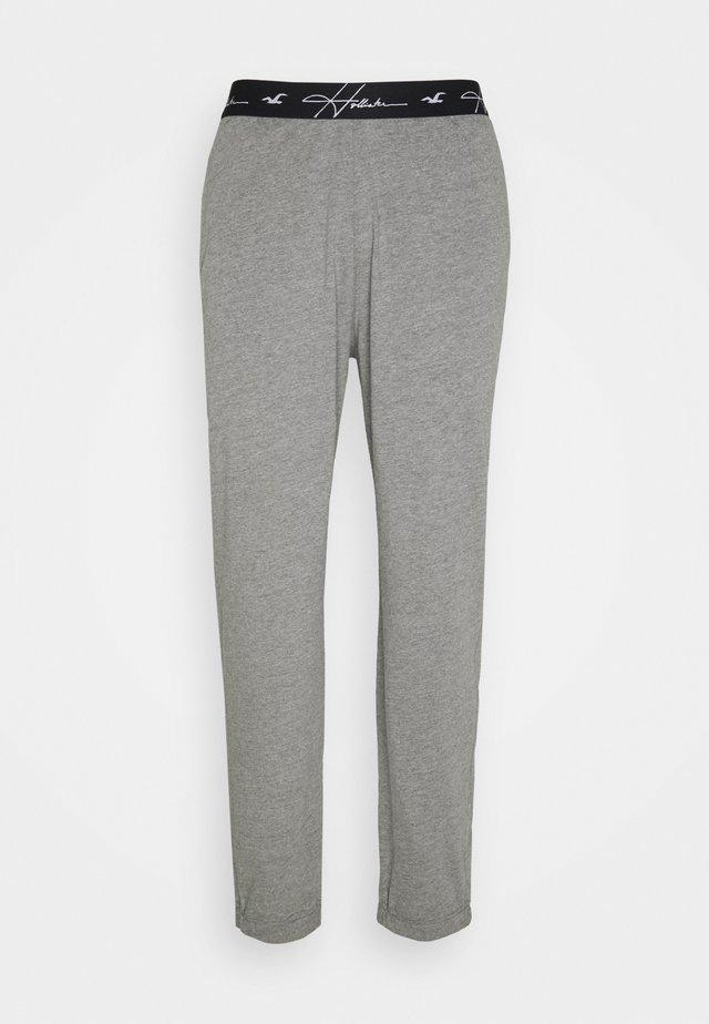LOUNGE BOTTOM JOGGERS - Pyjama bottoms - grey