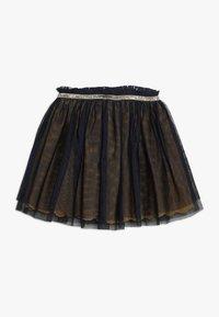 3 Pommes - SKIRT - Veckad kjol - midnight blue - 0