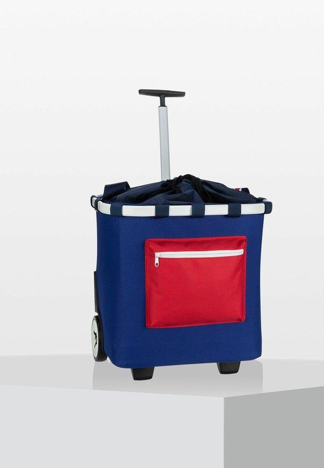 Wheeled suitcase - nautic