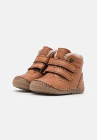 Froddo - PAIX WINTER SHOES WIDE FIT UNISEX - Baby shoes - cognac - 1