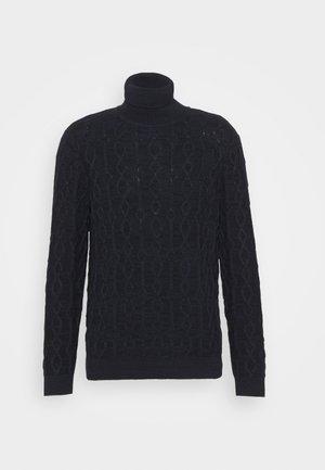 CABLE - Strikpullover /Striktrøjer - black