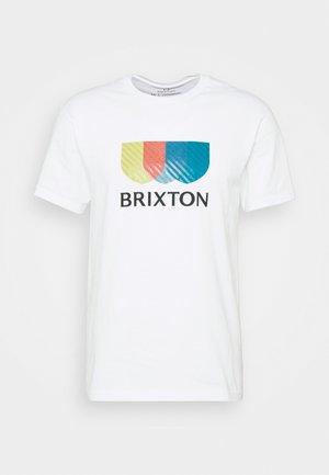 ALTON STRIPE - T-shirt print - white
