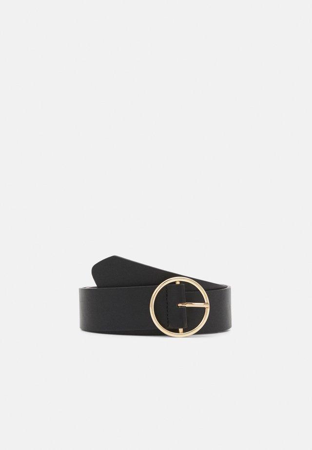 PCVERA WAIST BELT - Pásek - black/gold-coloured