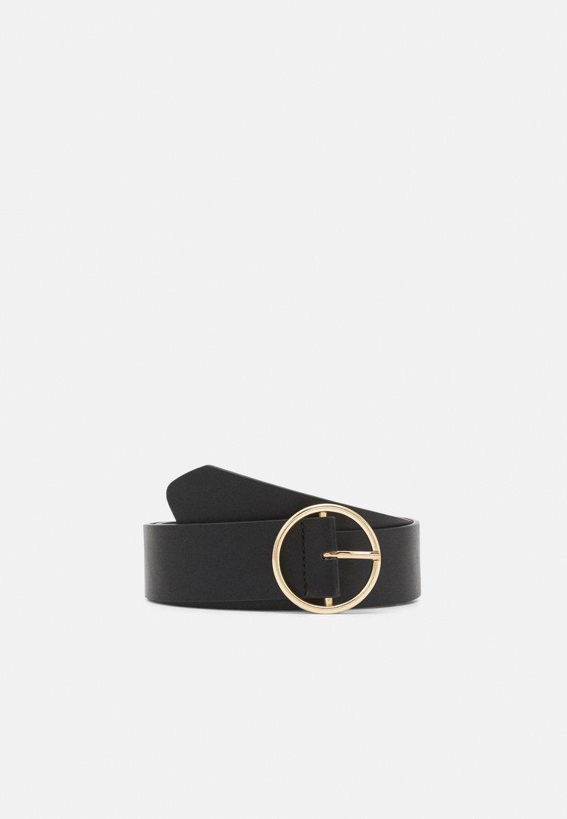 Pieces - PCVERA WAIST BELT - Belt - black/gold-coloured