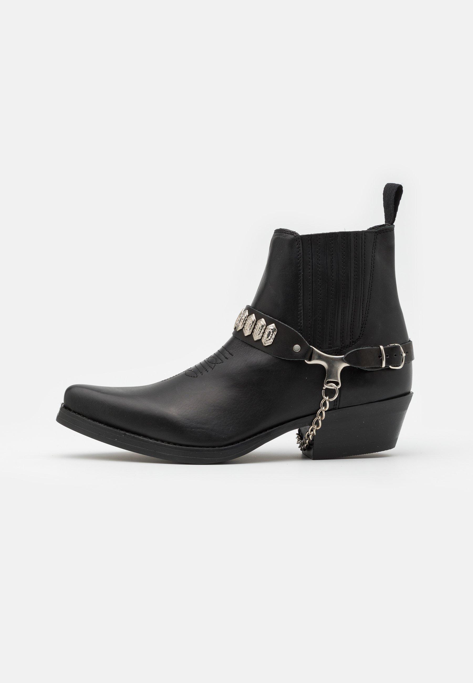 Men UNISEX  - Cowboy/biker ankle boot - black