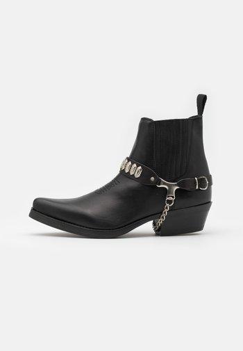 UNISEX  - Kovbojské/motorkářské boty - black