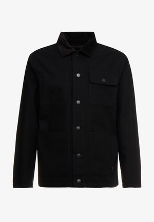 MN DRILL CHORE COAT - Korte jassen - black
