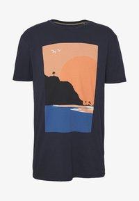 Esprit - T-shirt z nadrukiem - navy - 3