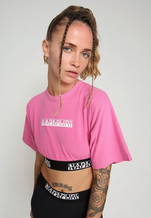 Camiseta de manga larga - pink super