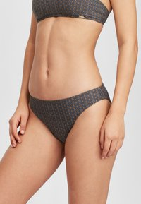O'Neill - RITA BOTTOM - Bikini bottoms - black with yellow - 0