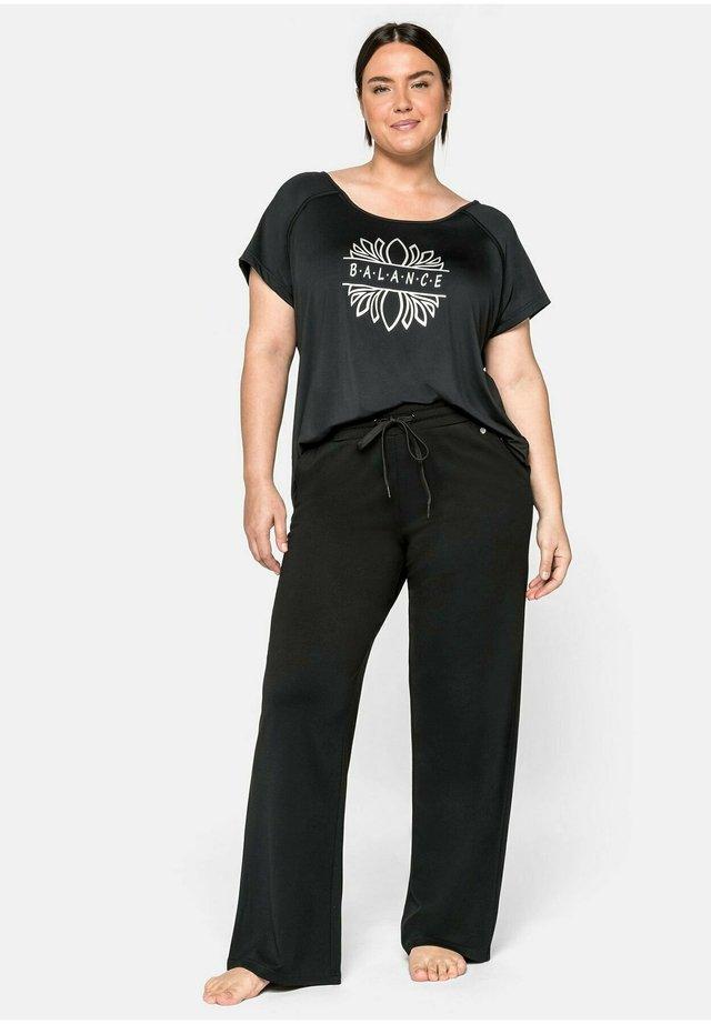 PALAZZO - Pantalon de survêtement - schwarz