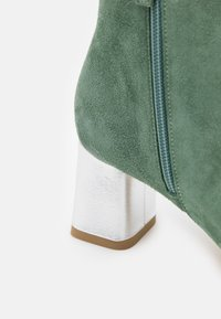 Repetto - MELO - Bottines - jade/argent - 6