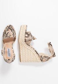 Steve Madden - SIVIAN - High heeled sandals - beige - 3
