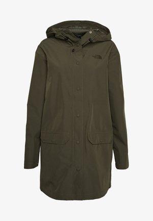 WOMENS WOODMONT RAIN JACKET - Hardshell-jakke - new taupe green