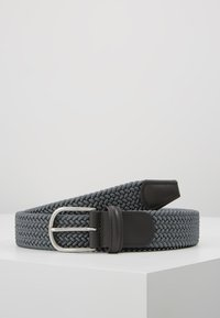 Anderson's - BELT - Braided belt - grey - 0