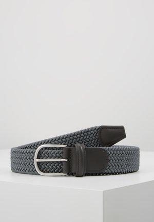 STRECH BELT UNISEX - Cinturón trenzado - grey