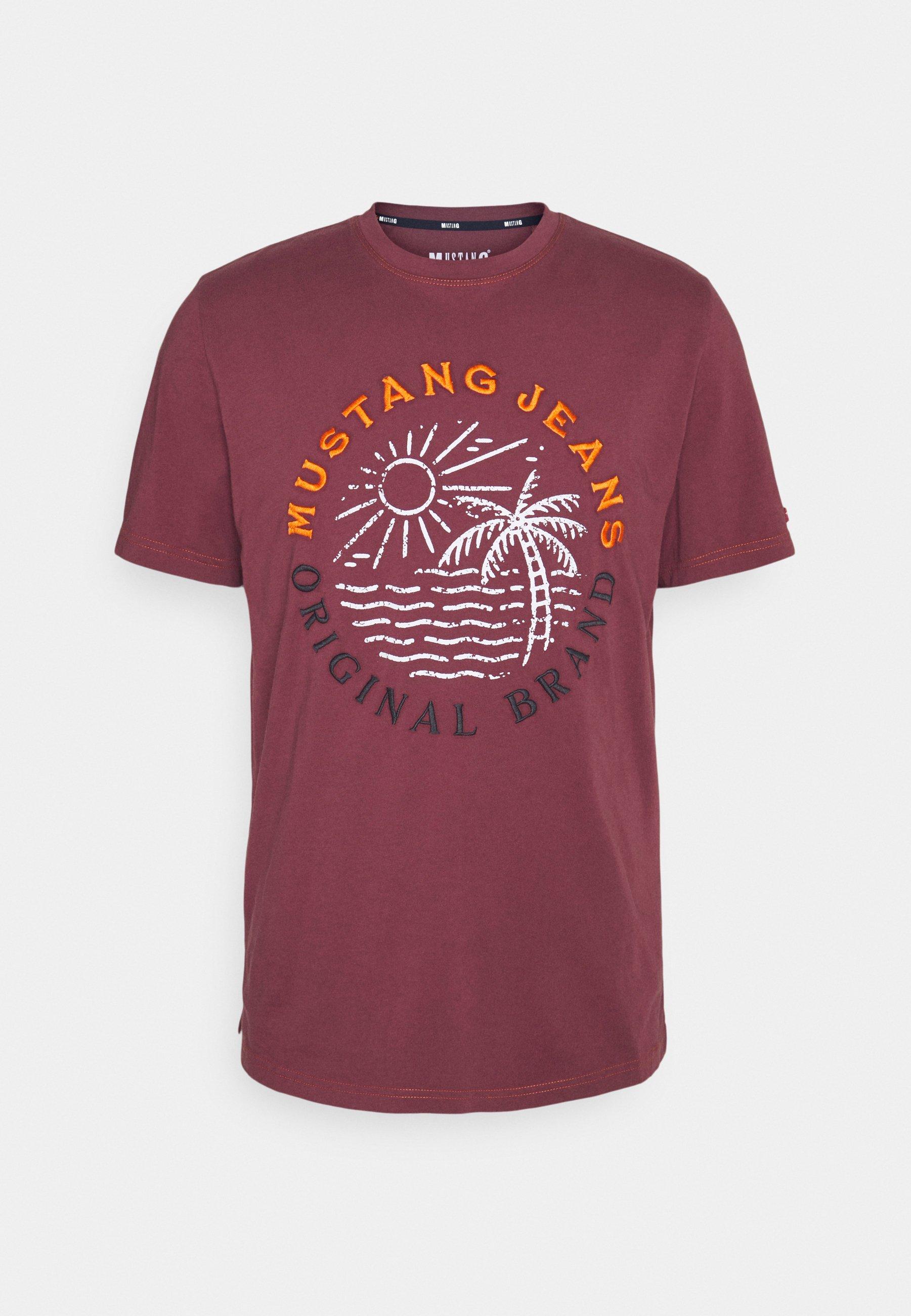 Men ALEX EMBRO - Print T-shirt