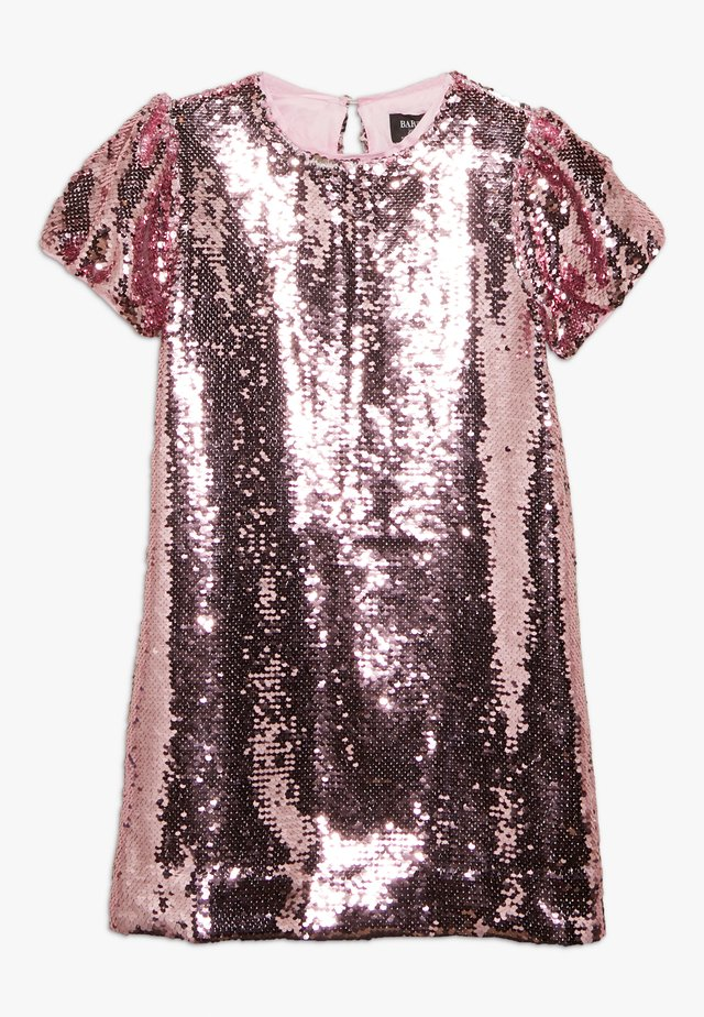 HARRIET SEQUIN DRESS - Cocktailkjoler / festkjoler - pink rose