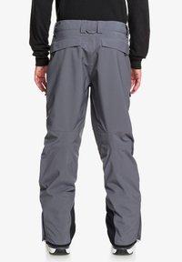 Quiksilver - Snow pants - iron gate - 1