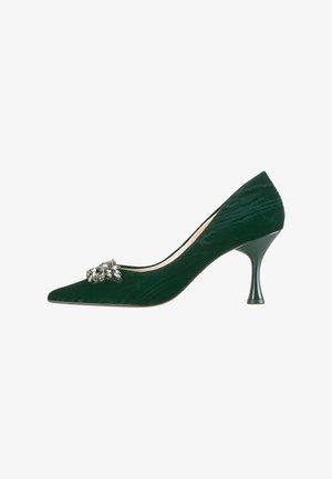 Classic heels - salvia