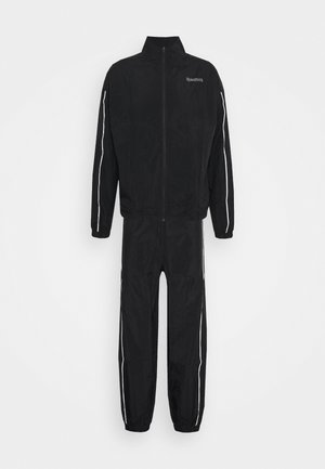 PIPING TRACKSUIT - Tracksuit - black