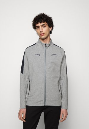 TRACK - Sweater met rits - grey marl