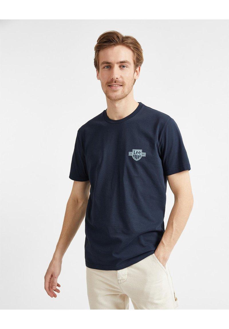 Lee - T-shirt basique - sky captain
