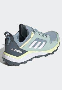 adidas Performance - TERREX AGRAVIC TR TRAIL RUNNING SHOES - Trail running shoes - blue - 4