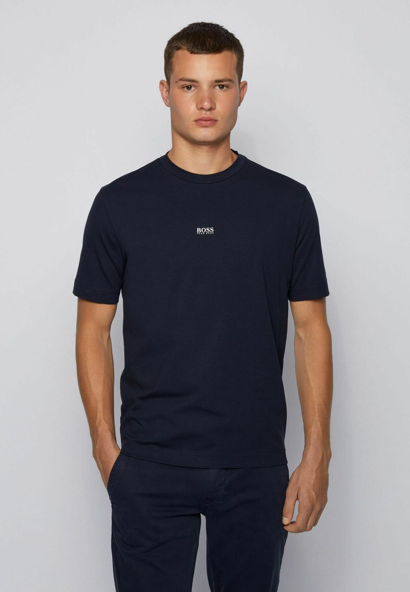 BOSS - TCHUP - T-Shirt basic - dark blue