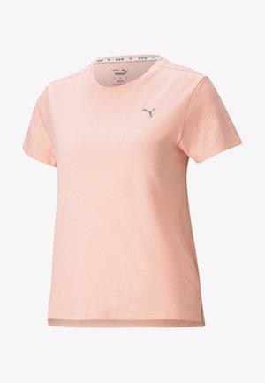 T-shirt sportiva - elektro peach heather