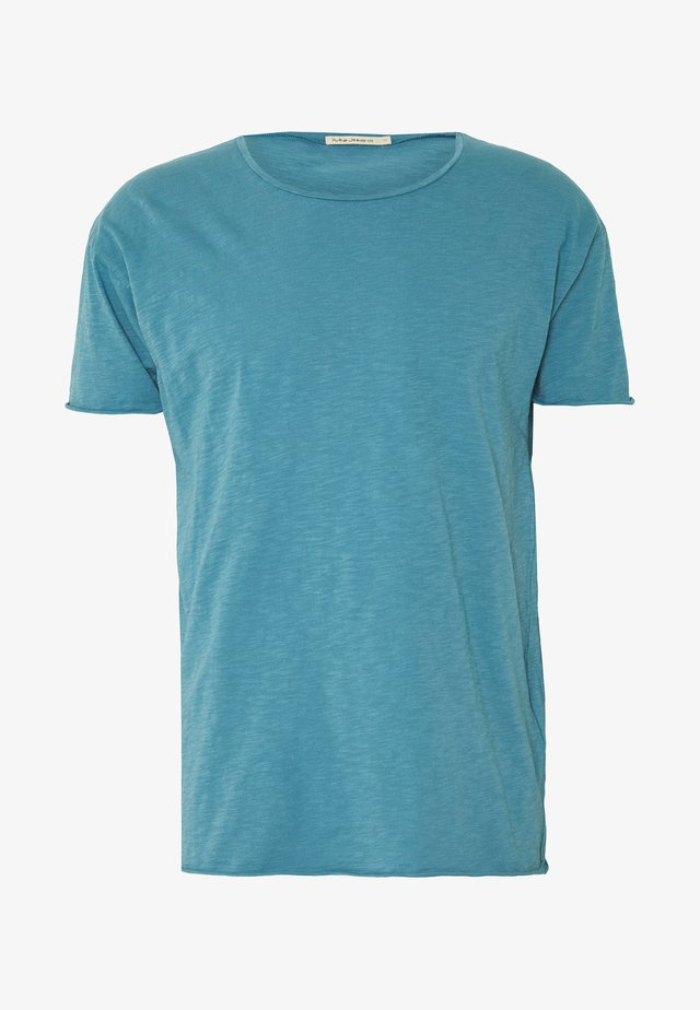 ROGER - T-shirt basic - petrol blue