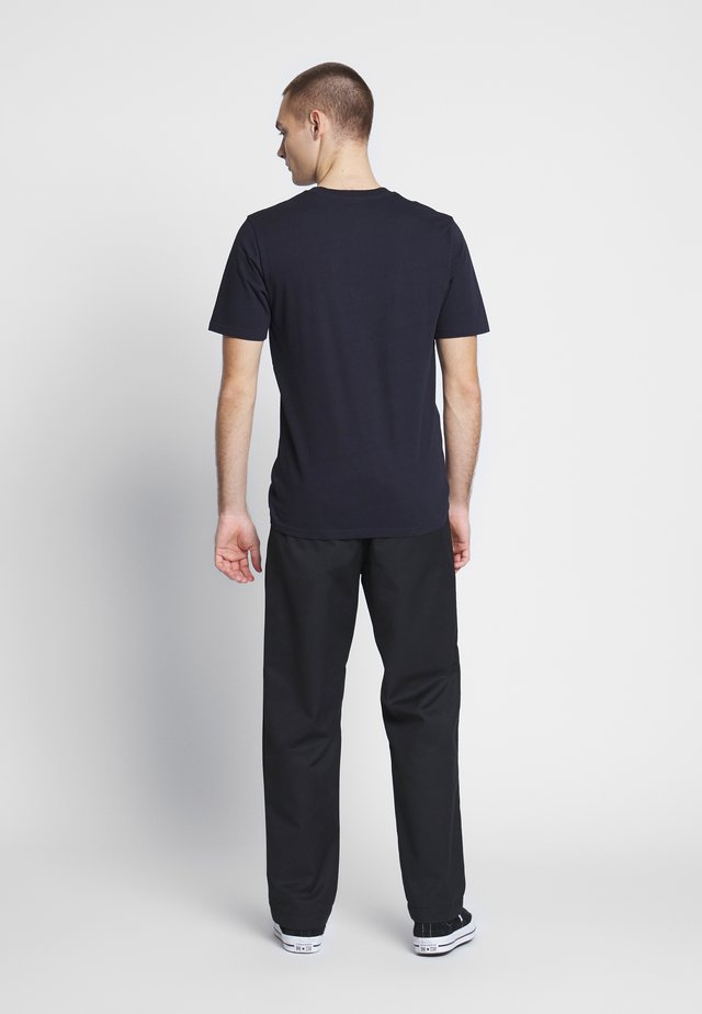 PANT DUNMORE - Chinos - black rinsed