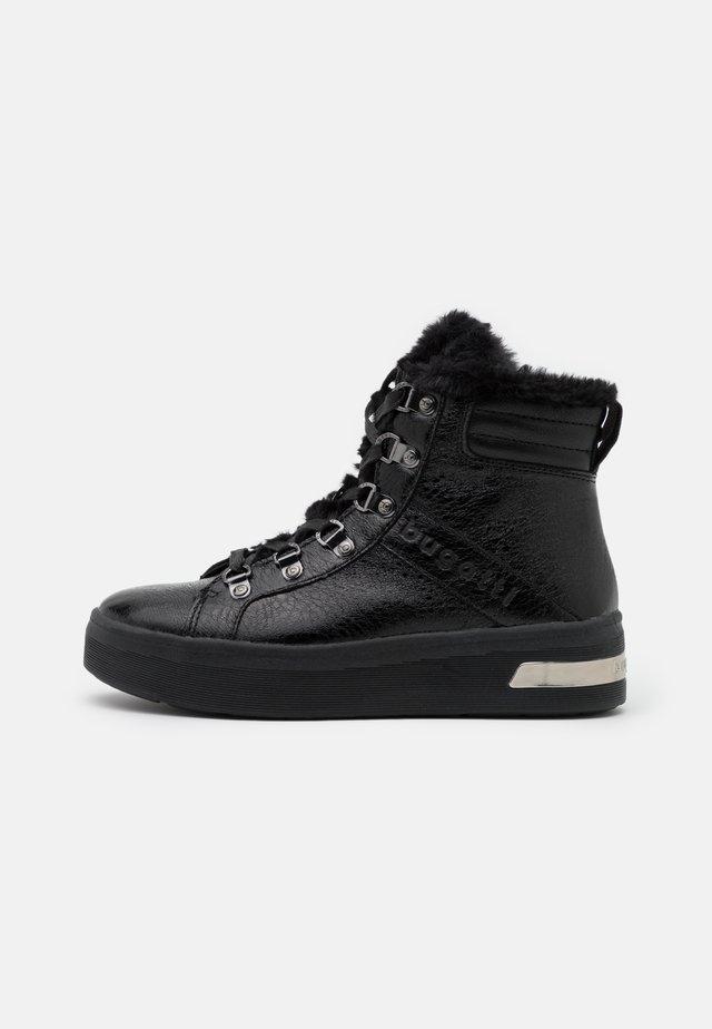 MILKA - Baskets montantes - black