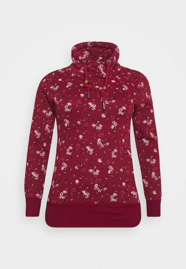 NESKA FLOWERS - Sweatshirt - red