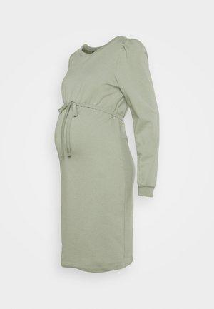 DRESS - Žerzejové šaty - seagrass