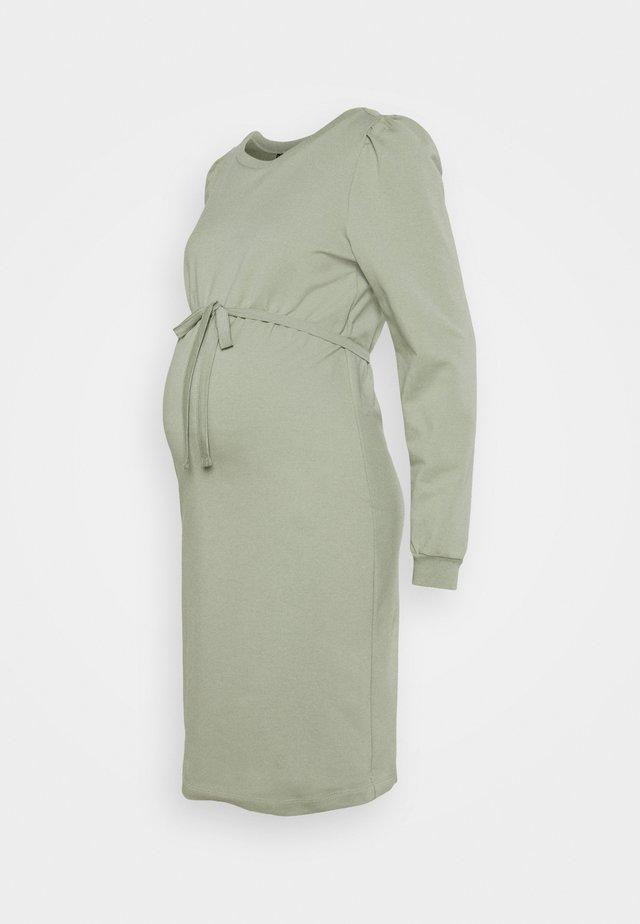DRESS - Robe en jersey - seagrass