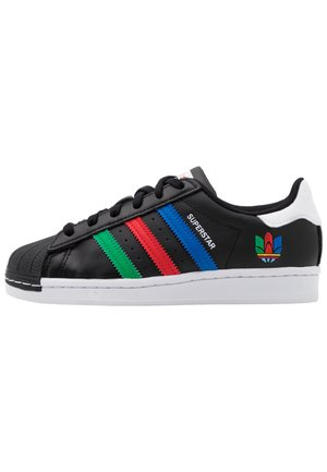 SUPERSTAR SPORTS INSPIRED SHOES UNISEX - Sneakersy niskie - core black/green/ftwr white