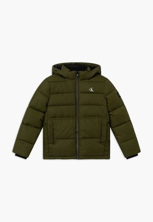 ESSENTIAL PUFFER JACKET - Winter jacket - green