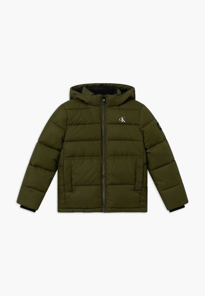 Calvin Klein Jeans - ESSENTIAL PUFFER JACKET - Zimní bunda - green