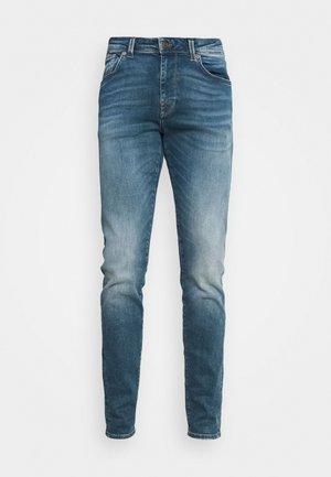 LEON - Jeansy Slim Fit - medium blue denim