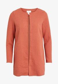 Vila - VINAJA NEW LONG JACKET - Summer jacket - light red - 4