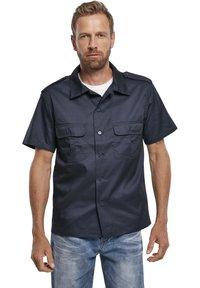 Brandit - HERREN US HEMD 1/2 - Shirt - navy - 0