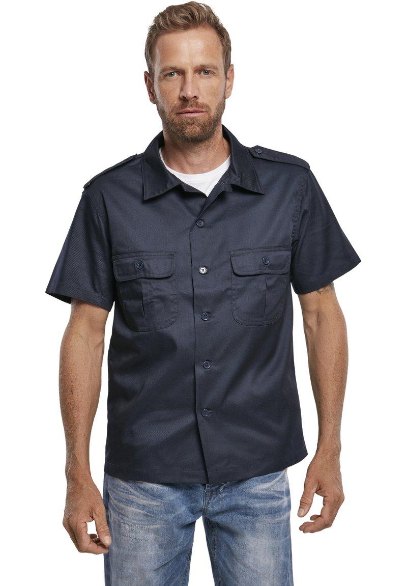 Brandit - HERREN US HEMD 1/2 - Shirt - navy