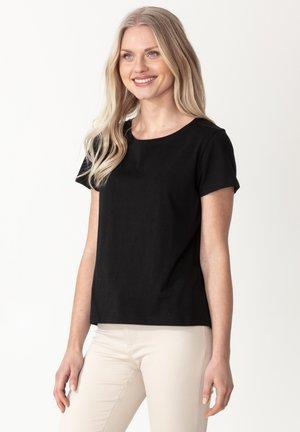 MATHILDA - Basic T-shirt - black
