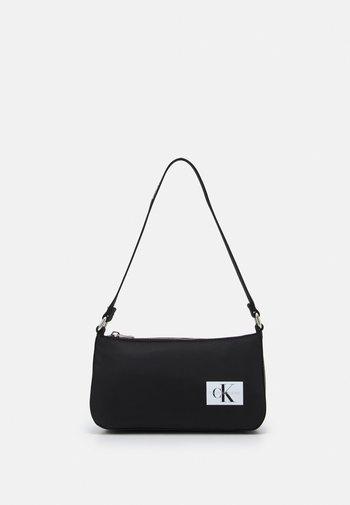 LOGO STRAP SHOULDER BAG - Handbag - black