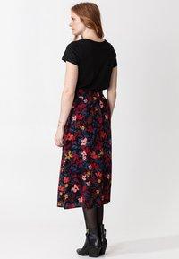 Indiska - SIBEL - A-line skirt - black - 2