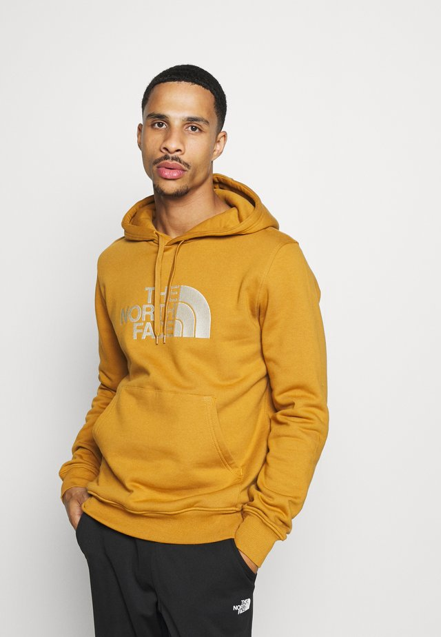 DREW PEAK - Sweat à capuche - tan/off-white