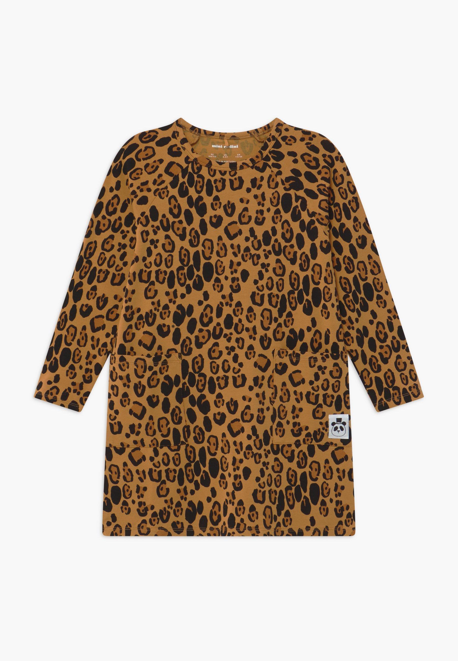 Kids BABY BASIC LEOPARD DRESS - Jersey dress