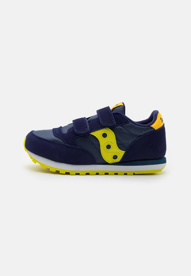 JAZZ DOUBLE UNISEX - Sneakers basse - navy/green/yellow