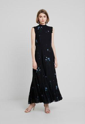 ANCLE - Vestito lungo - black